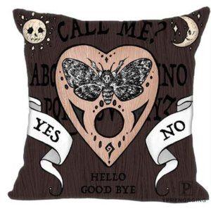 Ouija Deathhead Hawk Moth Pillow Cover